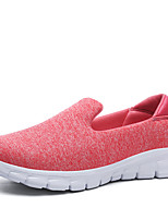 Women's Shoes Tulle Summer Fall Comfort Sneakers For Casual Blushing Pink Green Light Grey Dark Grey Dark Blue
