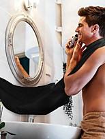 Bart-Schürze sammeln Tuch Lätzchen Gesichts-Haar-Zutaten Rasur Fänger Cape Sink Hause ramdon Farbe