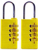 RESET RST-055 Copper Password Padlock Four Digital Password Large Anti-Theft Padlock Lock 6 To Install Dail Lock Password Lock