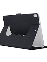 cheap -For Case Cover with Stand Full Body Case Solid Color Hard Textile for Apple iPad pro 10.5 iPad (2017) iPad Pro 9.7'' iPad Air 2 iPad Air
