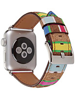 cheap -Watch Band For Apple Watch 3 Series 1 2 38mm 42mm Classic Buckle Genuine Leather Replacement Band