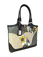 Women Bags All Seasons Cowhide Shoulder Bag for Casual Gray