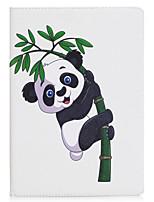 economico -Caso per ipad mini 1 2 3 mini caso 4 del materiale del modello del panda della copertura di caso materiale tre pieghevole del telefono