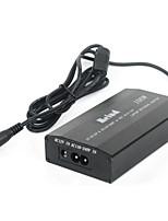 Meind adattatore universale 100w laptop con 8 punte doppio uso in auto e in casa