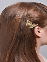 Europe and the United States foreign trade fashion simple hair accessories Natural joker girls hair clips The bionic butterfly clip tire A0310-0311