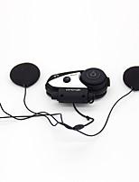 v6 multi-funcional 2 vías radio bt interphone casco de motocicleta auriculares de intercomunicación bluetooth
