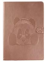 Caso para el ipad de la manzana pro 10.5 (2017) sostenedor de la tarjeta del ipad con el cuero de la PU de la panda del cuerpo completo