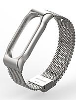 economico -Acciaio inossidabile Cinturino a maglia milanese Per Xiaomi Orologio