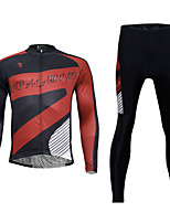 Ilpaladin Sport Men Long Sleeve Cycling Jerseys Suit CT774