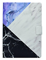 cheap -Case for Apple iPad pro 10.5 9.7'' Cover Card Holder with Stand Pattern Full Body Marble Hard PU Leather iPad (2017) 2 3 4 Air 2 Air mini 1 2 3