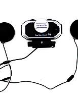 v8 moto multifunción bt interphone casco de motocicleta intercomunicación auriculares bluetooth