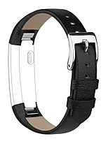cheap -For Fitbit Alta HR and Alta Leather Bands Miimall Genuine Leather Band With Buckle Replacement Wristband