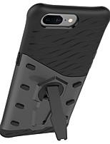 Недорогие -Кейс для Назначение OnePlus / Один плюс 3 со стендом / Поворот на 360° Кейс на заднюю панель Однотонный Твердый ПК для One Plus 5 / One Plus 3T / One Plus 3