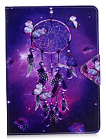 cheap -Case Cover for iPad pro 10.5 iPad (2017) Card Holder Wallet with Stand Flip Full Body Case Dream Catcher Hard PU Leather for iPad Pro 9.7 air2 mini4