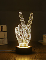 Lumière décorative LED Night Light-0.5W-USB Décorative - Décorative