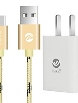 USB 2.0 Connect Cable, USB 2.0 to USB 2.0 Type C Connect Cable Male - Male 1.0m(3Ft)
