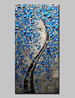 Hand-Painted Modern Abstract Tree Flower Oil Paintings On Canvas Wall Art Pictures For Home Decoration Ready To Hang