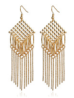 Women's Earrings Set Basic Tassel Geometric Multi Layer Metallic Alloy Jewelry For Gift Daily Evening Party Club Street