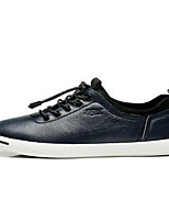 Men's Sneakers Comfort PU Spring Casual Blue Black White Flat
