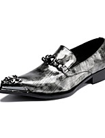 Men's Loafers & Slip-Ons Amir's Fashion Dress Novelty Cowhide Patent Leather Party & Evening