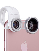MOMAX X-Lens Mobile Phone Lens 120  Wide Angle  15X Macro 180 Fish Eye External Lens
