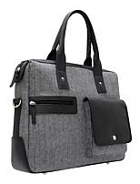 Unisex Bags All Seasons Cowhide Tote for Casual Office & Career Coffee