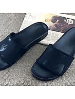 Da donna Scarpe PU (Poliuretano) Estate Pantofole e flip-flop Pantofole e infradito Per Casual Bianco Nero Rosso