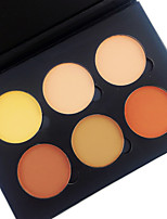 Pro 6 Color Contour Blush Blusher Kit 2in1 Bronzer & Highlighting Contour Powder Bright&Matte Pressed Powder Makeup Cosmetic Palette 4 Color Choose