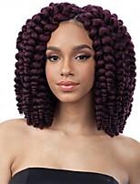 Bouncy Curl Wand Curl ombre color Hair Braids Hair Extensions 100% Kanekalon Hair Braids