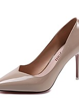 Women's Heels Comfort PU Summer Dress Stiletto Heel Champagne Almond Ruby Black 2in-2 3/4in