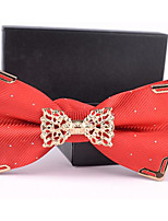 Adult Polyester Bow Tie,Modern/Comtemporary Dots