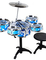 Educational Toy Toy Instruments Toys Round Circular Drum Set ABS PVC Pieces Unisex Gift