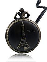 Damen Taschenuhr Quartz Wasserdicht Legierung Band Bronze