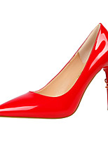 Women's Heels Formal Shoes Patent Leather Summer Fall Wedding Office & Career Party & Evening Dress Stiletto Heel