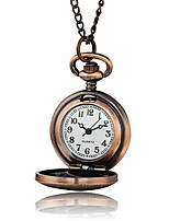 Women's Pocket Watch Quartz Water Resistant / Water Proof Alloy Band Bronze