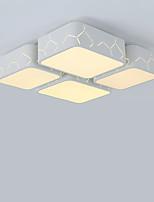 Flush Mount 36W Modern/Contemporary for LED Metal Living Room Bedroom Dining Room Study Room/Office Kids Room