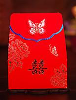 100 Фавор держатель-Прочее Картон Розовая бумага Коробочки Мешочки Подарочные коробки