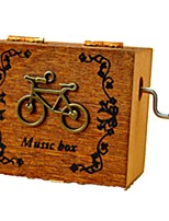 Music Box Toy Cars Toys Bicycle Plastics Wood Pieces Unisex Valentine's Day Birthday Gift