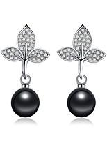 Per donna Orecchini a bottone Orecchini a goccia Zircone cubico Perle finte Zirconi Classico Di tendenza Vintage stile della Boemia Stile