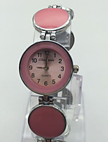 Women's Wrist watch Bracelet Watch Chinese Quartz Alloy Band Vintage Dot Casual Red Pink