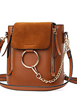 Women Bags All Seasons PU Shoulder Bag for Wedding Event/Party Casual Formal Office & Career Blue Black Gray Brown