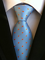 Men's Polyster Neck TieDress Shoes Neckwear Polka Dot All Seasons W0072