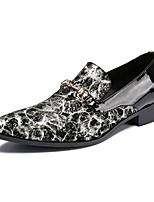 Men's Loafers & Slip-Ons Amir's Cowhide Patent Leather Wedding Casual Party & Evening Buckle