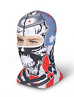 XINTOWN Cool Skull Outdoor Face Mask Microfiber Polyester Multifunctional Seamless Headwear for Motorcycle Hiking Cycling Ski Snowboard