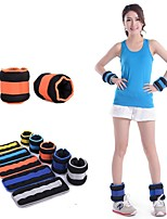 4Kg/Pair Random Color Selling Running Training Leggings Wrappings Sandbags Wrist Sand Bag (Random Color)