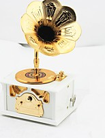 Music Box Toys Phonograph ABS Pieces Not Specified Gift