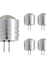 1W G4 LED Doppel-Pin Leuchten T 1 Hochleistungs - LED 90 lm Warmes Weiß Kühles Weiß 2800-3500;5000-6500 K DC 12 V
