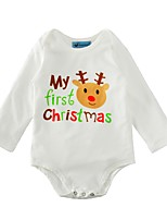 Baby Fashion Print One-Pieces,Cotton Spring/Fall Summer Long Sleeve
