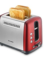 BUYDEEM D612Bread Makers Toaster Kitchen 220V Multifunction Light and Convenient Timer Cute Low Noise Power light indicator Lightweight Low vibration