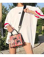 T-shirt Da donna Per uscire Moda città Con stampe Monocolore Rotonda Altro Manica a 3/4